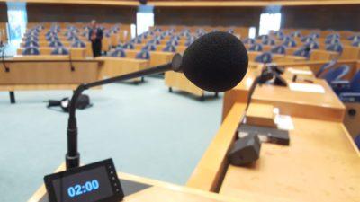 Tweede Kamer: algemeen overleg over het PGB  4 april